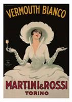 Martini and Rossi Vermouth Bianco Fine Art Print