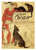 Clinique Cheron Fine Art Print