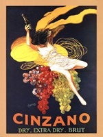 Cinzano Brut Framed Print