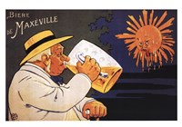 "Maxeville Beer - 28"" x 19"""