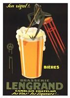 Brasserie Lengrand Fine Art Print
