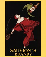 Sauvion's Brandy by Leonetto Cappiello - various sizes