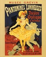 Pantomines Lumineuses Fine Art Print