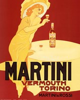 Martini Vermouth Torino Fine Art Print