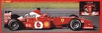 Ferrari F1 2002 Framed Print