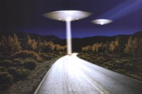 Ufo Invasion Fine Art Print