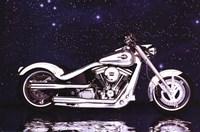 Motorcycle - Radical Custom Big Twin Sof Fine Art Print