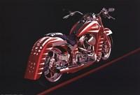 Motorcycle - 1995 Fine Art Print