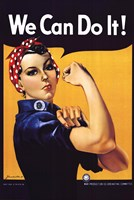 Rosie The Riveter Fine Art Print