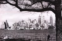 "New York - Skyline - 36"" x 24"""
