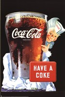 "Have a Coke by Richard Henson - 24"" x 36"""