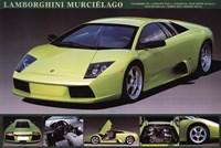 Lamborghini Murcielago Wall Poster