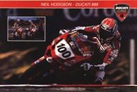 Ducati Superbike Wall Poster