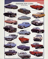 American Cars Fine Art Print