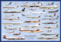 Civil Aircraft Fine Art Print