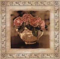 Imperial Rose I Framed Print