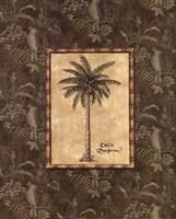 Vintage Palm III Fine Art Print
