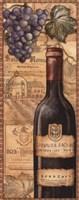 "Vineyards - Red by Charlene Audrey - 8"" x 20"""