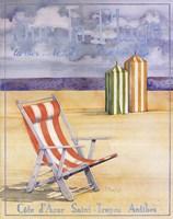 """Sur La Plage by Paul Brent - 16"""" x 20"""""""