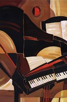 "Abstract Piano by Paul Brent - 24"" x 36"""