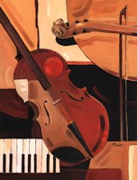 Abstract Violin Fine Art Print