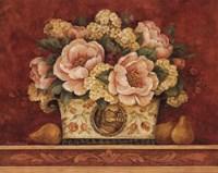 Peony Tapestry Fine Art Print