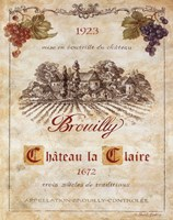 Brouilly Fine Art Print