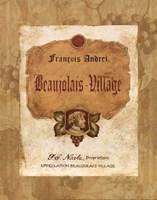 "Beaujolais Village by Pamela Gladding - 8"" x 10"""