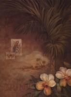 "West Indies Sunset II by Pamela Gladding - 18"" x 24"""