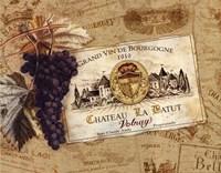 "Chateau la Batut by Pamela Gladding - 14"" x 11"""