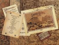 "Grand Hotel London by Pamela Gladding - 14"" x 11"""