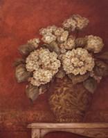 "Villa Flora Hydrangeas by Pamela Gladding - 22"" x 28"""