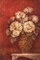 "Villa Flora Hydrangea by Pamela Gladding - 24"" x 36"""