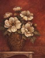 "Villa Flora Peonies by Pamela Gladding - 22"" x 28"""