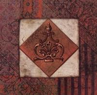 "Rust Archivae by Pamela Gladding - 12"" x 12"""