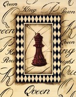 Chess Queen Fine Art Print