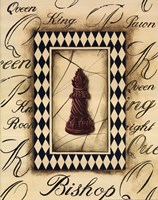 Chess Bishop Framed Print