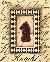Chess Knight Fine Art Print