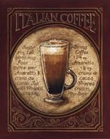 Italian Coffee Framed Print