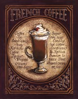 French Coffee Framed Print