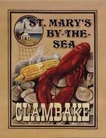 Clam Bake Framed Print