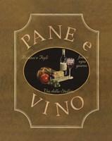 Pane e Vino Fine Art Print
