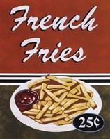 French Fries Framed Print