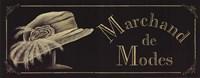 Marchand De Modes Fine Art Print