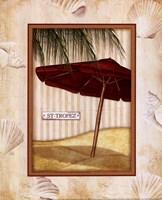 Parasol Club I Framed Print