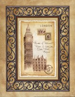 London Postcard Fine Art Print
