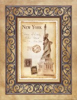 New York Postcard Fine Art Print