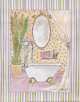 Powder Room I Fine Art Print