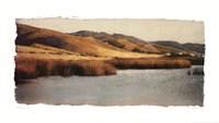 "Estuary I by Amy Melious - 39"" x 22"""