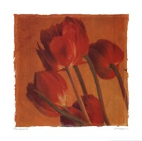 """Red  Gold II by Amy Melious - 20"""" x 20"""""""